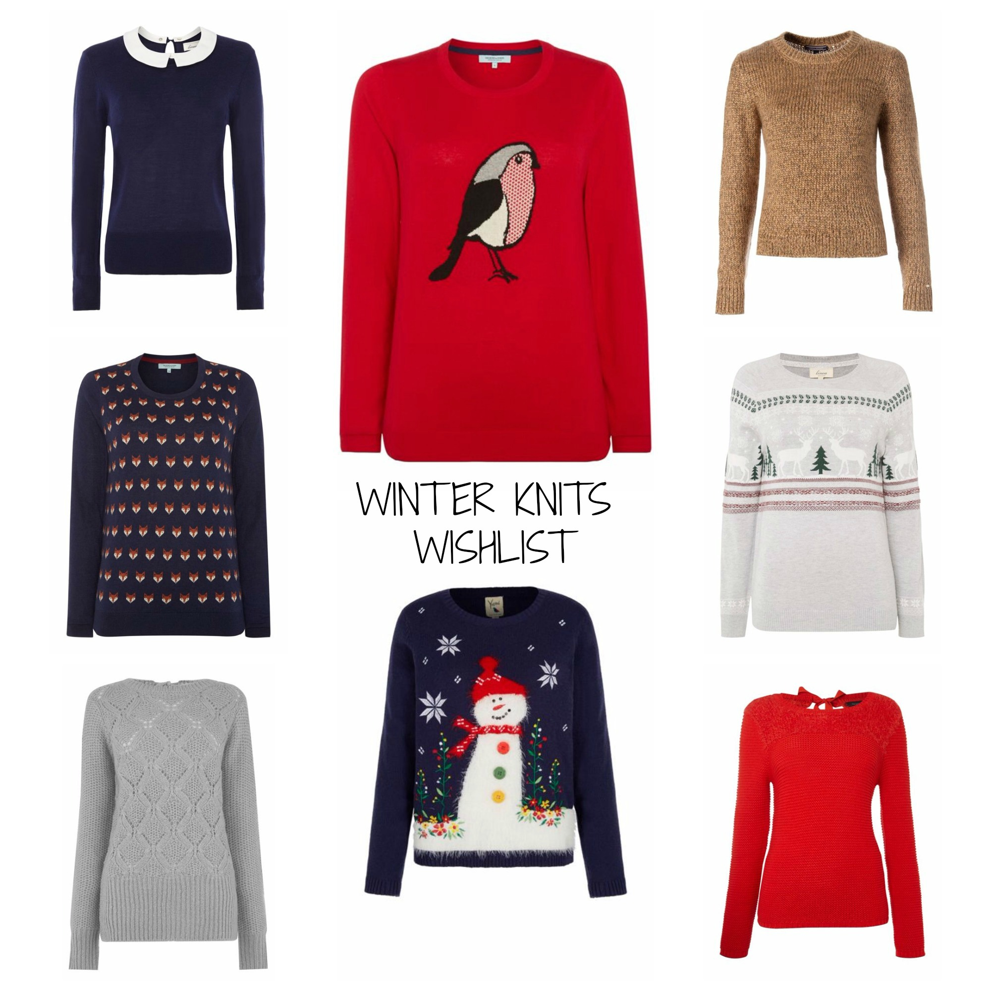 winter knits wishlist