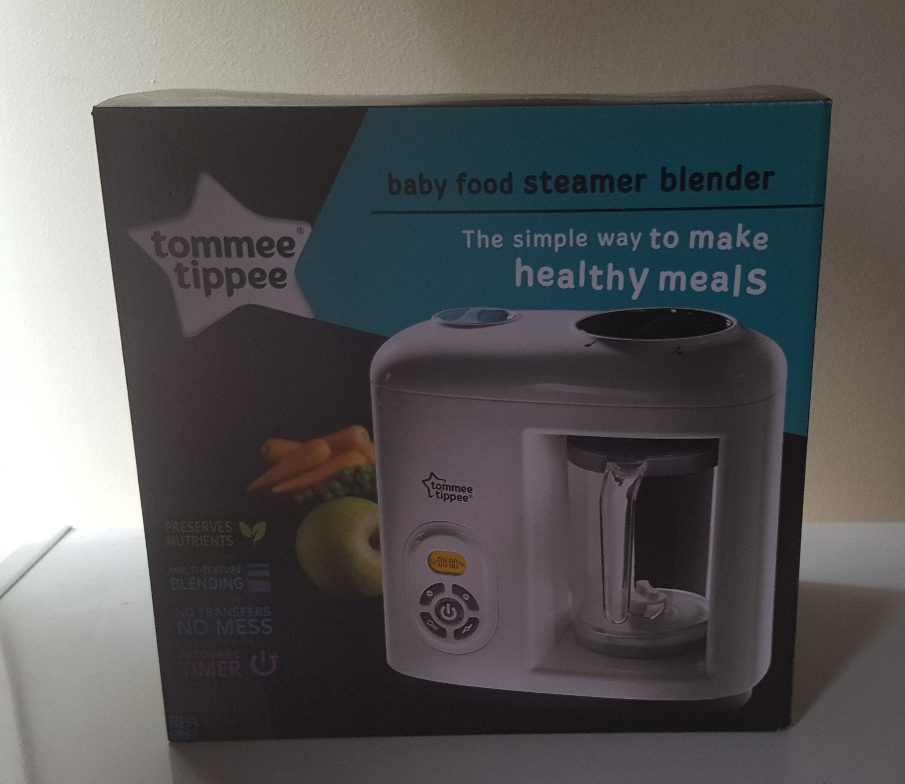 Trying Out The Tommee Tippee Steamer Blender For Hallowean