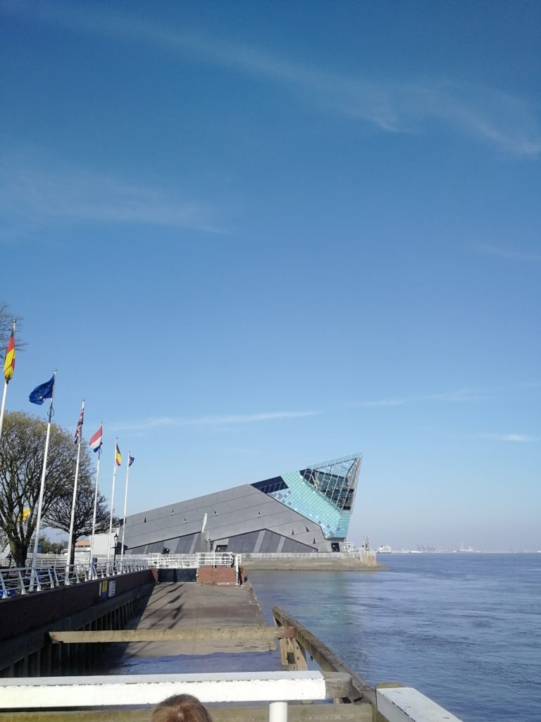 The exterior of The Deep, Hull