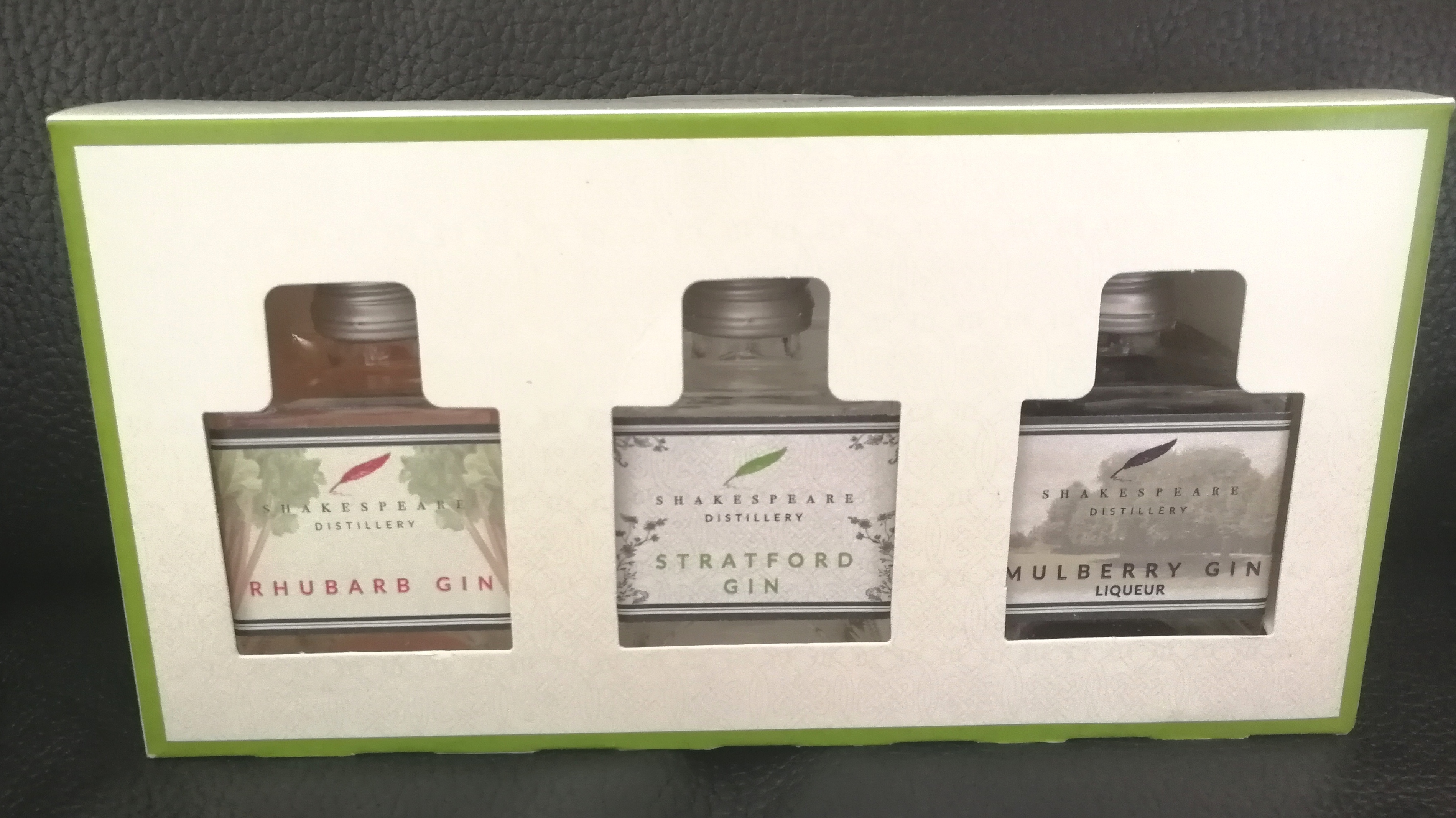 Shakespeare Distillery Three Gin Gift Set