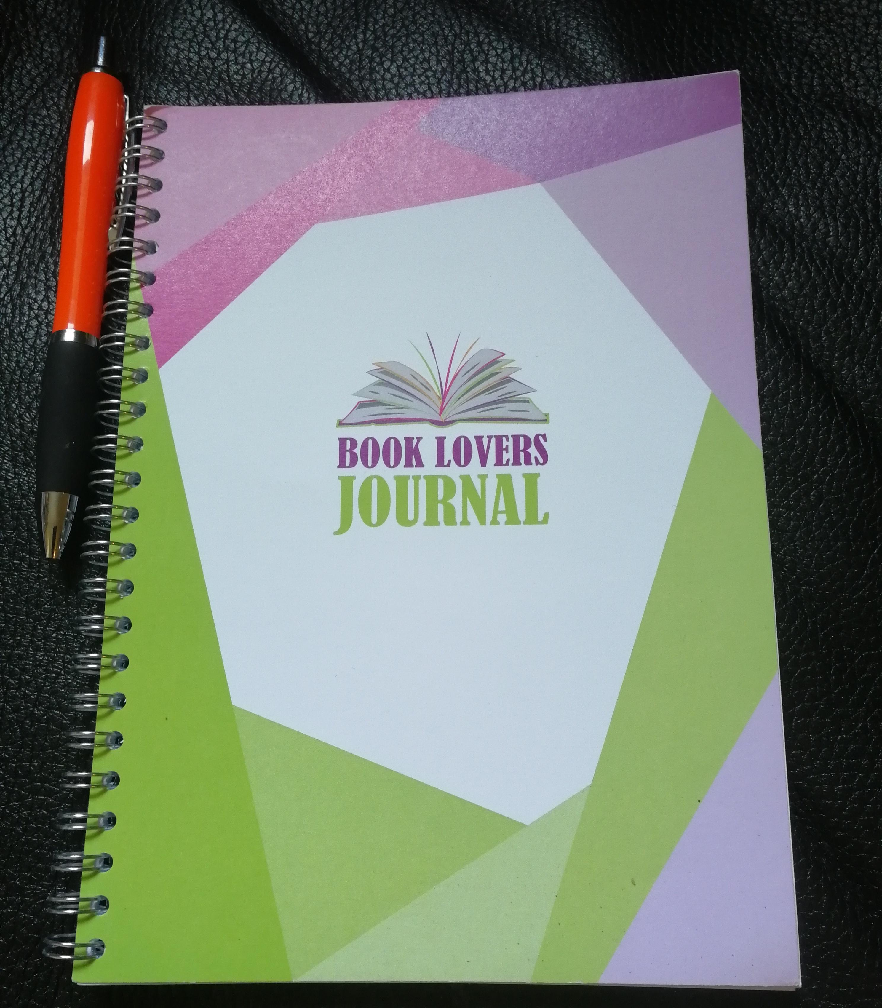 Stationery Geek Book Lovers Journal