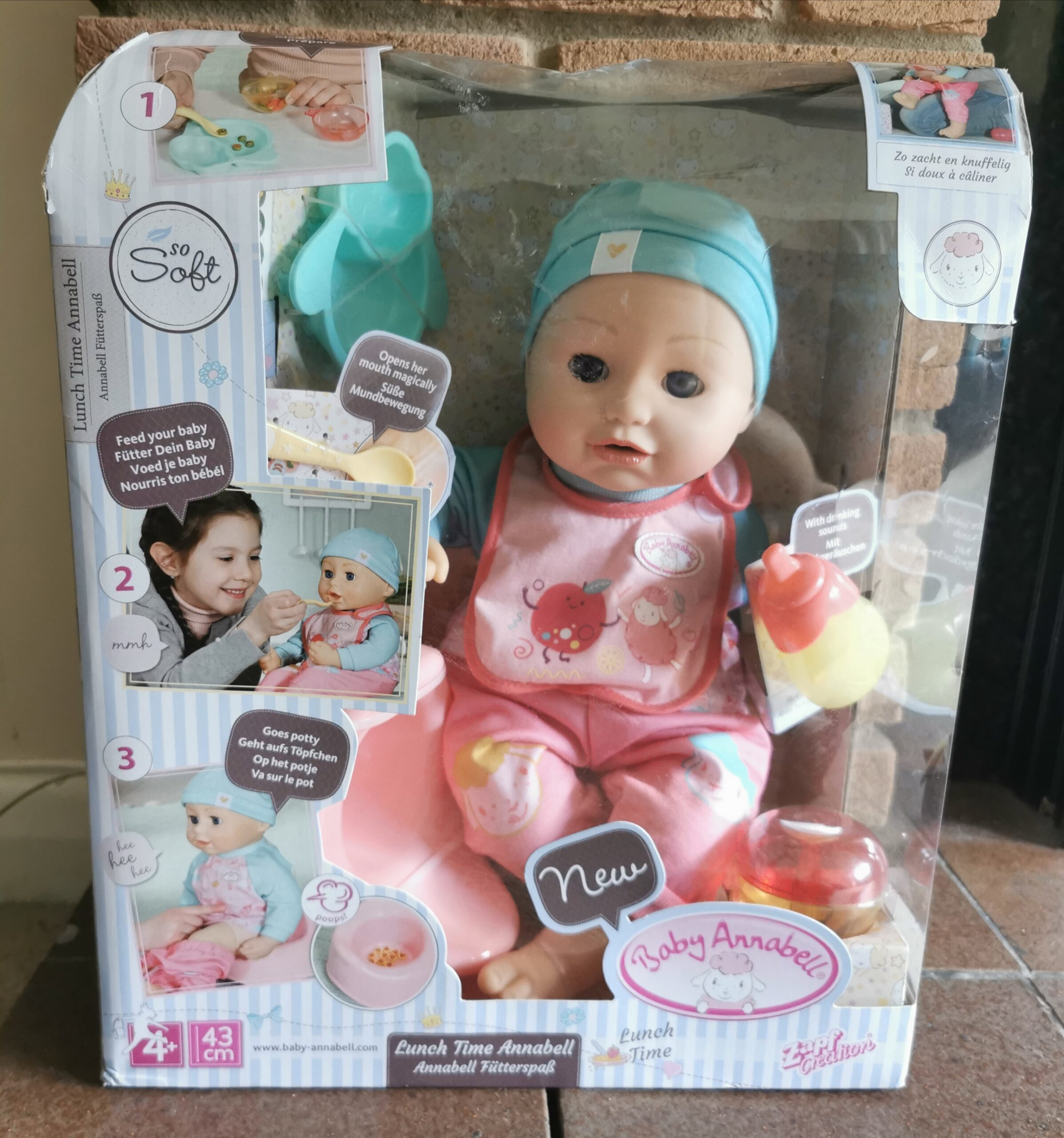 Baby Annabell Lunch Time Annabell   Review - Futures - UK ...